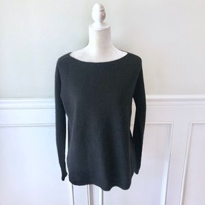 J MCLAUGHLIN Cashmere Sweater Boatneck Ribbed XS